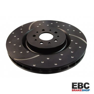 EBC Turbo Grooved Disc GD1410