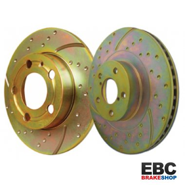 EBC Turbo Grooved Disc GD392
