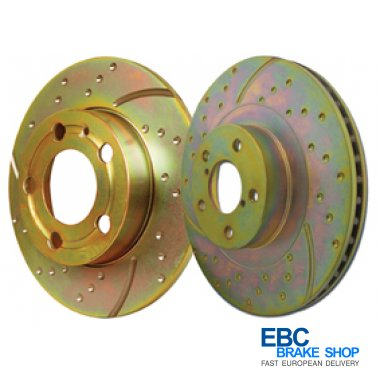 EBC Turbo Grooved Disc GD595