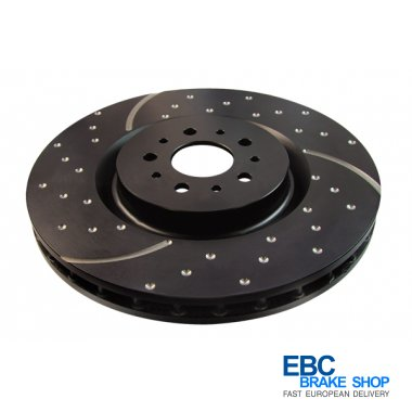 EBC Turbo Grooved Disc GD653