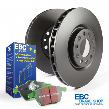 EBC Greenstuff Pad & Plain Disc Kit PD01KF643