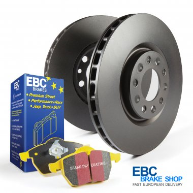 EBC Yellowstuff Pad & Plain Disc Kit PD03KF684