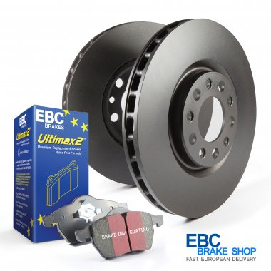 EBC Ultimax Pad & Plain Disc Kit PD40K771