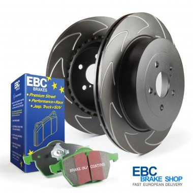EBC Greenstuff Pad & Blade Sport Disc Kit PD16KR004