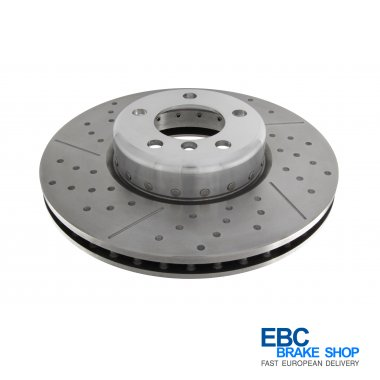 EBC Turbo Grooved Disc GD2068R